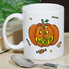 Pumpkin Name Halloween Personalized Coffee Mug