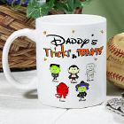 Personalized Trick or Treat Coffee Mug