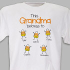 Personalized Halloween Candy Corn T-Shirt