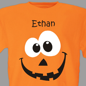 Personalized Pumpkin T-Shirt