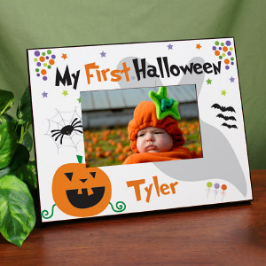 My First Halloween Printed Frame