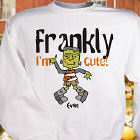 Frankly I'm Cute Personalized Youth Sweatshirt