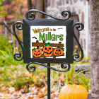 Personalized Halloween Garden Stake