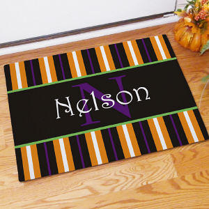 Personalized Doormat - Halloween Design