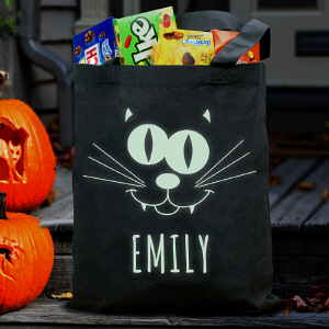 Glow In The Dark Halloween Bag | Personalized Halloween Bags