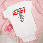 Look Like Mummy Personalized Halloween Infant Creeper
