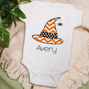 Personalized Little Witch Infant Apparel