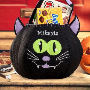 Black Cat Treat Bag