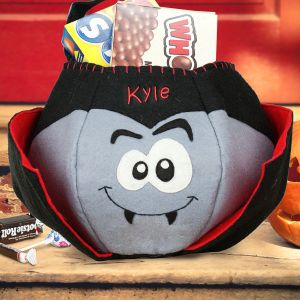 Dracula Trick or Treat Bag