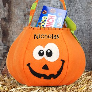 Pumpkin Halloween Bag | Personalized Halloween Bags