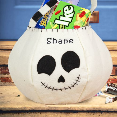 Skeleton Halloween Bag | Personalized Halloween Bags