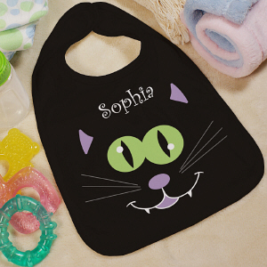 Personalized Halloween Baby Bib