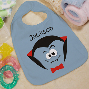 Halloween Personalized Baby Bib