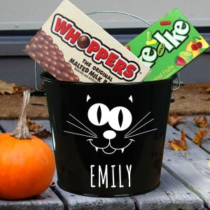 Halloween Candy Bucket | Personalized Halloween Baskets