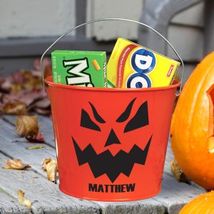 Jack O' Lantern Halloween Bucket V78734OR