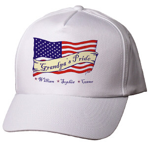 Personalized USA American Pride Hat