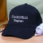 Embroidered Groomsman Hat