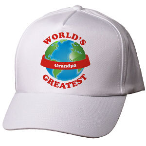Personalized World's Greatest Hat