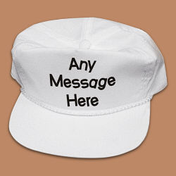 Crazy Message Personalized Hat