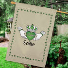 Personalized Failte Irish House Flag