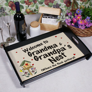 Personalized Welcome Serving Tray 42948ST