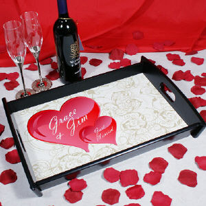 Personalized Couple Serving Tray