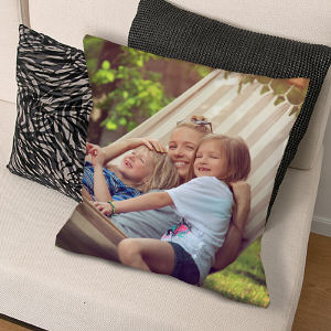 Personalized Photo Throw Pillow