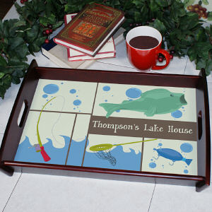 Personalized Fisherman Serving Tray 45907ST
