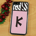 Custom Zebra Print iPhone 5 Case