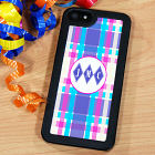 Personalized Multicolored Stripe iPhone 5 Case