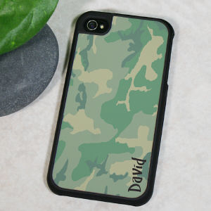Personalized Camouflage iPhone 4S Case