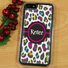 Multicolored Leopard Print iPhone 5 Case