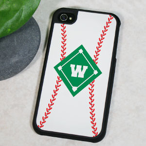 Personalized Baseball iPhone 4 Case