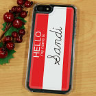 Custom Name Tag iPhone 5 Case