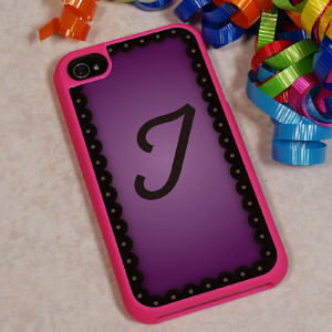 Monogrammed iPhone 4 Cover