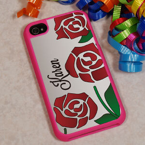iPhone 4 S Rose Case