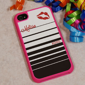 Hugs and Kisses iPhone 4S Case