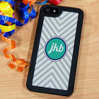 Zig Zag Stripes iPhone 5 Phone Case