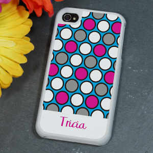 Personalized iPhone 4 Case for Her