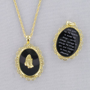 Filigree Onyx Necklace