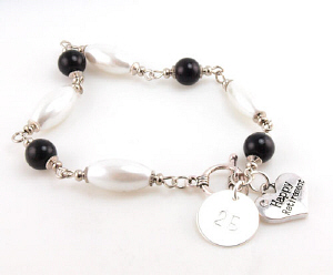 Personalized Retirement Bracelet