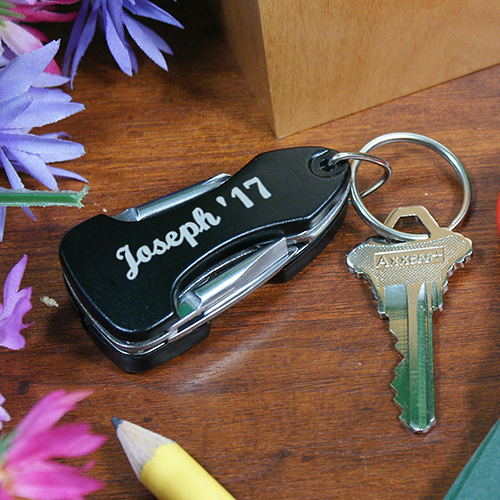 Personalized Graduation Multitiool LED Key Chain KC66393