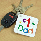 Personalized #1 Key Chain 356700
