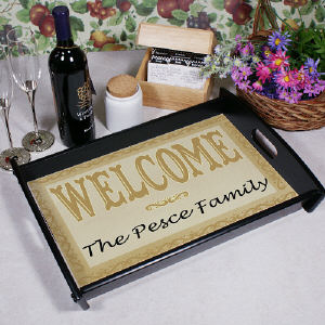 Welcome Home Serving Tray