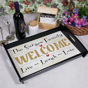 Live, Laugh, Love Serving Tray
