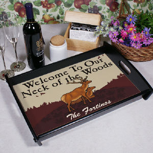 Neck of the Woods Serving Tray
