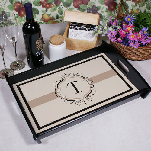 Personalized Monogram Serving Tray 43345ST