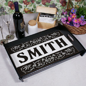 Our Family Welcome Serving Tray