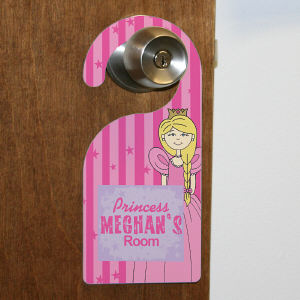 Personalized Princess Door Hanger