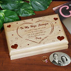Engraved the Love I Found Valet Box 711645